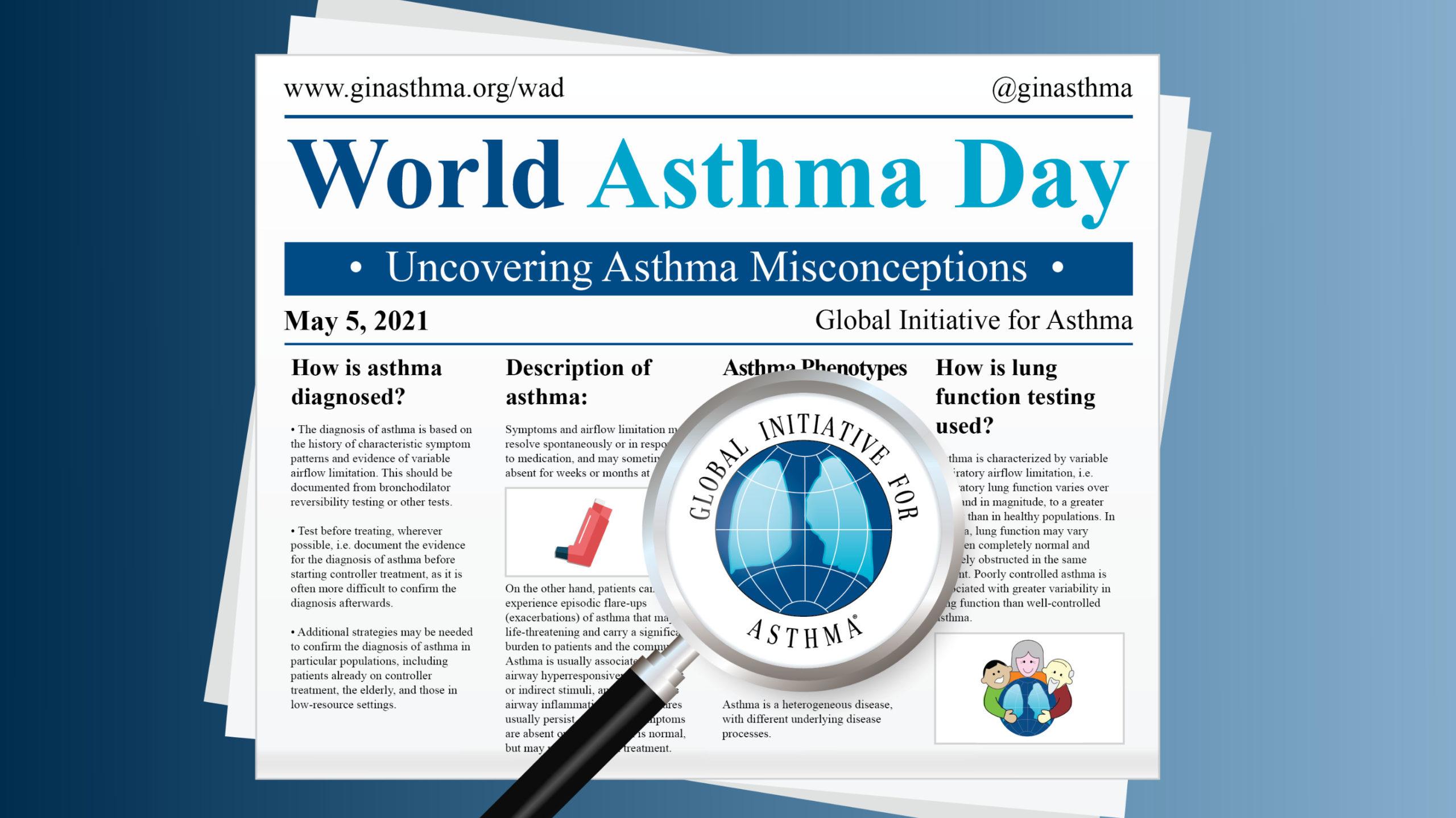 día mundial del asma 2021