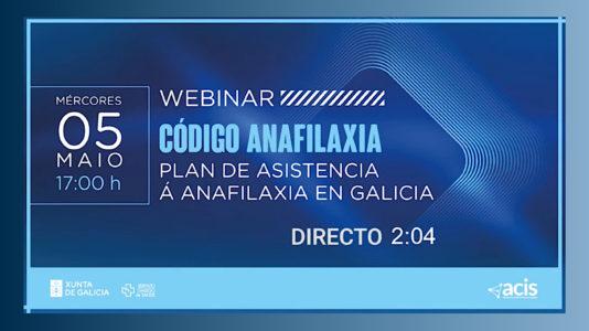 código anafilaxia